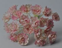 LIGHT ROSY PINK GYPSOPHILA / FORGET ME NOT Mulberry Paper Flowers